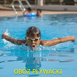 Obóz pływacki